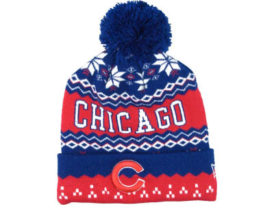 Chicago Cubs MLB Jr Weather Advisory Knit Hats