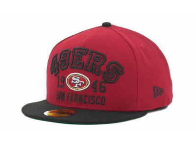 San Francisco 49ers NFL Word Knock 59FIFTY Cap Hats
