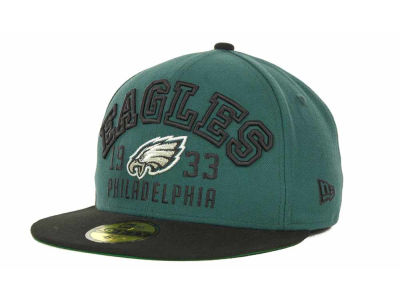 Philadelphia Eagles NFL Word Knock 59FIFTY Cap Hats