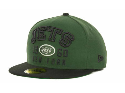New York Jets NFL Word Knock 59FIFTY Cap Hats