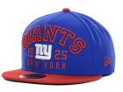 New York Giants New Era NFL Word Knock 59FIFTY Cap Fitted Hats