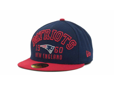 New England Patriots NFL Word Knock 59FIFTY Cap Hats