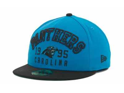 Carolina Panthers NFL Word Knock 59FIFTY Cap Hats