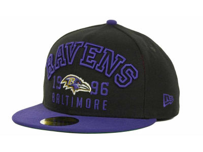 Baltimore Ravens NFL Word Knock 59FIFTY Cap Hats