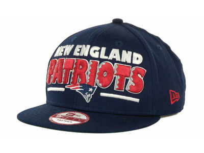 New England Patriots NFL Retro Sting Snapback 9FIFTY Cap Hats