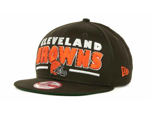 Cleveland Browns New Era NFL Retro Sting Snapback 9FIFTY Cap Hats