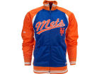 New York Mets MLB Colorblock Track Jacket Jackets