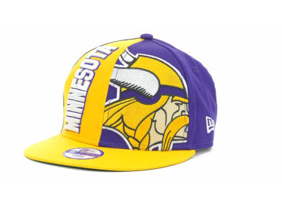 Minnesota Vikings NFL 2013 Logo Change Snapback 9FIFTY Cap Hats