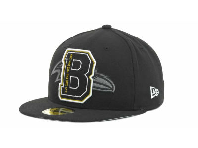 Baltimore Ravens NFL Felt'n 59FIFTY Cap Hats