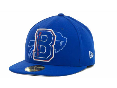 Buffalo Bills NFL Felt'n 59FIFTY Cap Hats