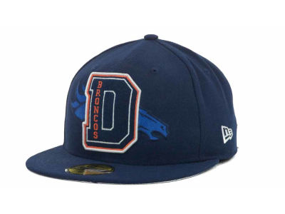 Denver Broncos NFL Felt'n 59FIFTY Cap Hats