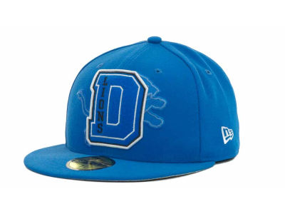 Detroit Lions NFL Felt'n 59FIFTY Cap Hats