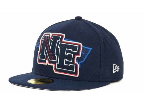 New England Patriots New Era NFL Felt'n 59FIFTY Cap Hats