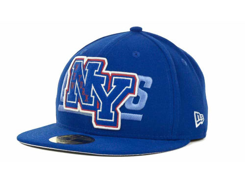 New York Giants New Era NFL Felt'n 59FIFTY Cap Hats