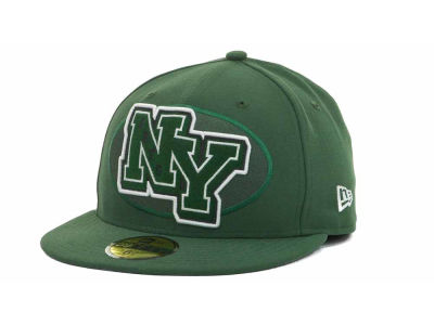 New York Jets NFL Felt'n 59FIFTY Cap Hats