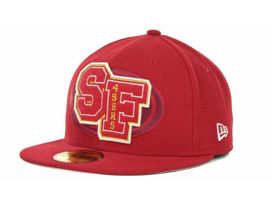San Francisco 49ers NFL Felt'n 59FIFTY Cap Hats