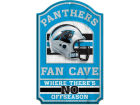Carolina Panthers Wincraft 11x17 Wood Sign Flags & Banners