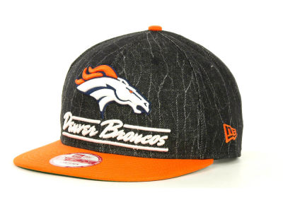 Denver Broncos NFL Lightning Strike 9FIFTY Cap Hats