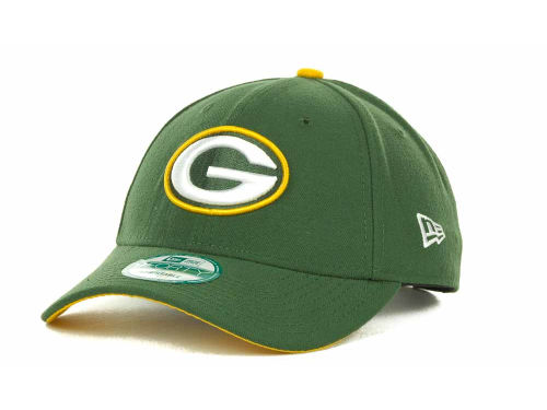 Green Bay Packers New Era NFL First Down 9FORTY Hats