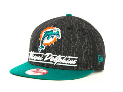 Miami Dolphins NFL Lightning Strike 9FIFTY Cap Hats