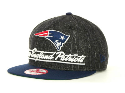 New England Patriots NFL Lightning Strike 9FIFTY Cap Hats
