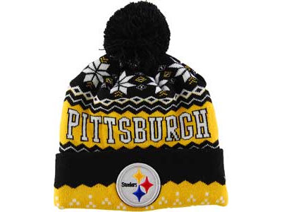 Pittsburgh Steelers NFL Weather Advisory Knit Hats