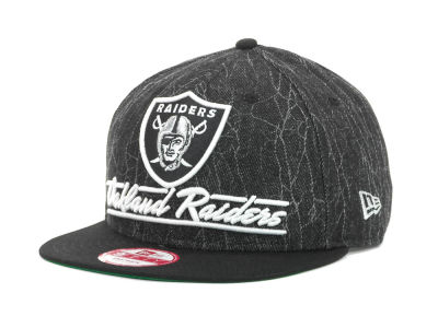 Oakland Raiders NFL Lightning Strike 9FIFTY Cap Hats