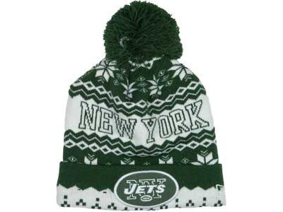 New York Jets NFL Weather Advisory Knit Hats