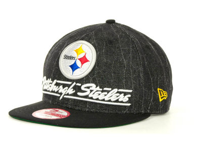 Pittsburgh Steelers NFL Lightning Strike 9FIFTY Cap Hats