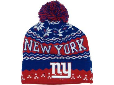 New York Giants NFL Weather Advisory Knit Hats