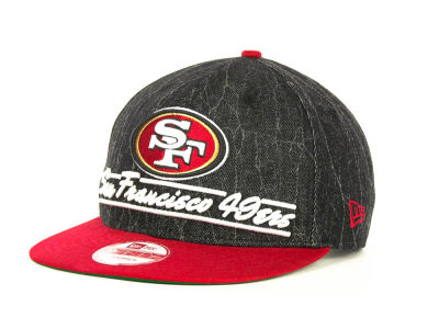 San Francisco 49ers NFL Lightning Strike 9FIFTY Cap Hats