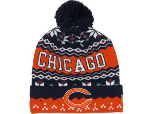 Chicago Bears New Era NFL Weather Advisory Knit Hats