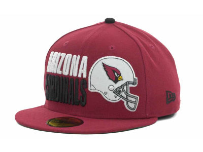 Arizona Cardinals NFL Stack The Box 59FIFTY Cap Hats