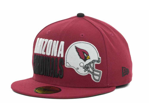 Arizona Cardinals New Era NFL Stack The Box 59FIFTY Cap Hats