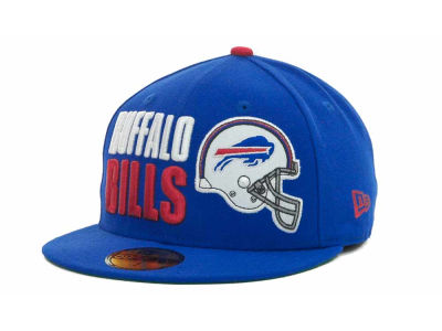Buffalo Bills NFL Stack The Box 59FIFTY Cap Hats