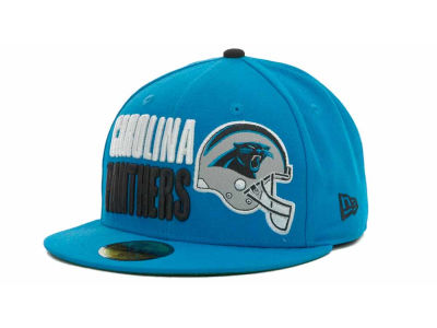 Carolina Panthers NFL Stack The Box 59FIFTY Cap Hats