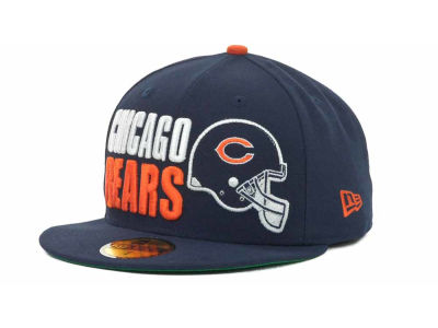 Chicago Bears NFL Stack The Box 59FIFTY Cap Hats