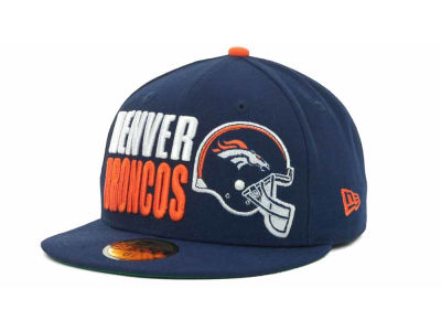 Denver Broncos NFL Stack The Box 59FIFTY Cap Hats