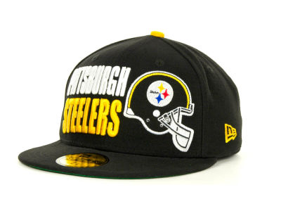 Pittsburgh Steelers NFL Stack The Box 59FIFTY Cap Hats