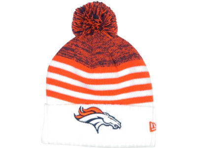 Denver Broncos NFL Snowfall Stripe Knit Hats