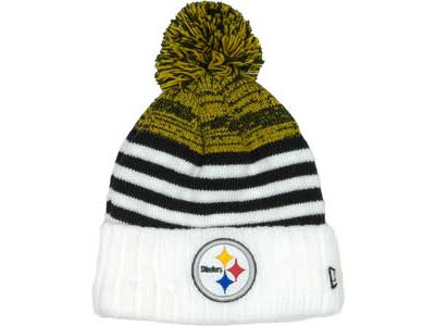 Pittsburgh Steelers NFL Snowfall Stripe Knit Hats