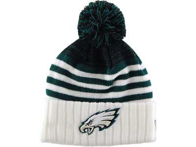 Philadelphia Eagles NFL Snowfall Stripe Knit Hats
