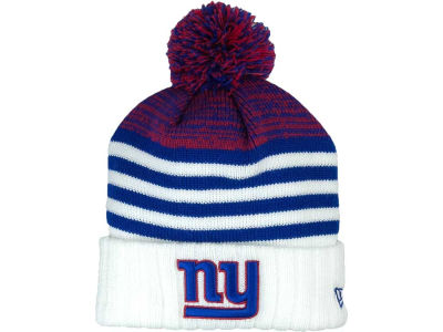 New York Giants NFL Snowfall Stripe Knit Hats
