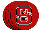 North Carolina State Wolfpack 4pk Neoprene Coaster Set Kitchen & Bar