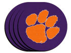 Clemson Tigers 4pk Neoprene Coaster Set Kitchen & Bar