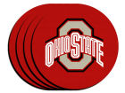 Ohio State Buckeyes 4pk Neoprene Coaster Set Kitchen & Bar
