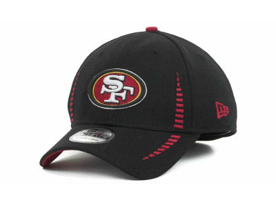 San Francisco 49ers Training Camp Black 39THIRTY Cap Hats