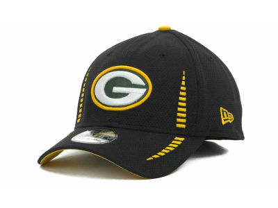 Green Bay Packers Training Camp Black 39THIRTY Cap Hats