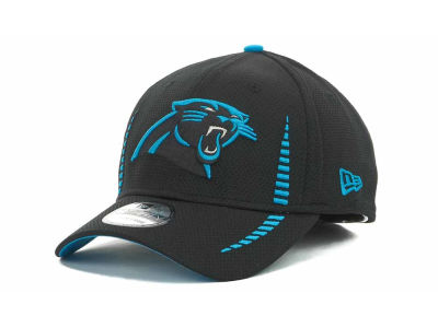 Carolina Panthers Training Camp Black 39THIRTY Cap Hats