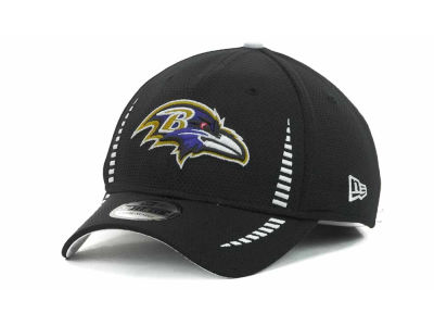 Baltimore Ravens Training Camp Black 39THIRTY Cap Hats